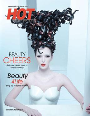 HOT by Hair's How Magazine, November/December 2012 issue - look inside