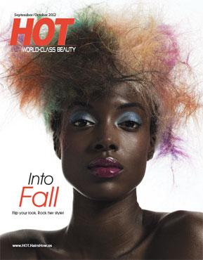 HOT by Hair's How Magazine, September/October 2012 issue - look inside