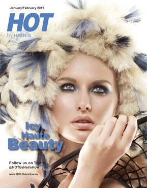 HOT by Hair's How Magazine, January/February 2012 issue - look inside