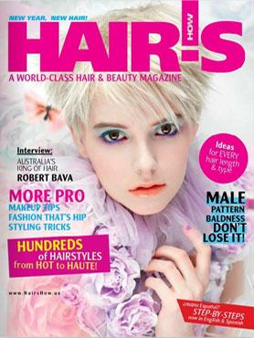 HOT by Hair's How Magazine, January/February 2010 issue - look inside