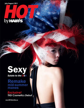 July/August 2011 HOT by Hair's How Magazine issue