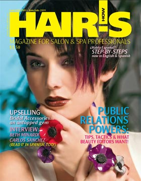 June/July 2009 HOT by Hair's How Magazine issue