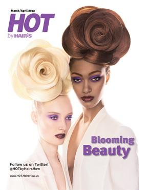 HOT by Hair's How Magazine, March/April 2012 issue - look inside