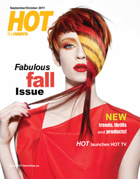 HOT by Hair's How Magazine, September/October 2011 issue - look inside
