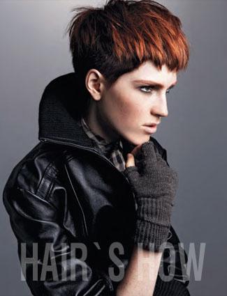 Hair: Marie Cain @ Head Studio
