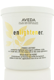 Aveda Enlightener Powder Lighter and 5 Volume Color Catalyst
