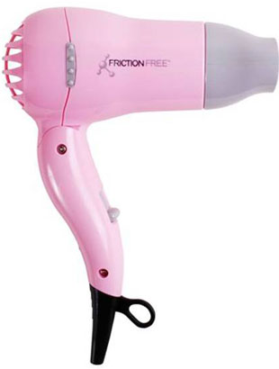 Pink Friction Free Travel Dryer