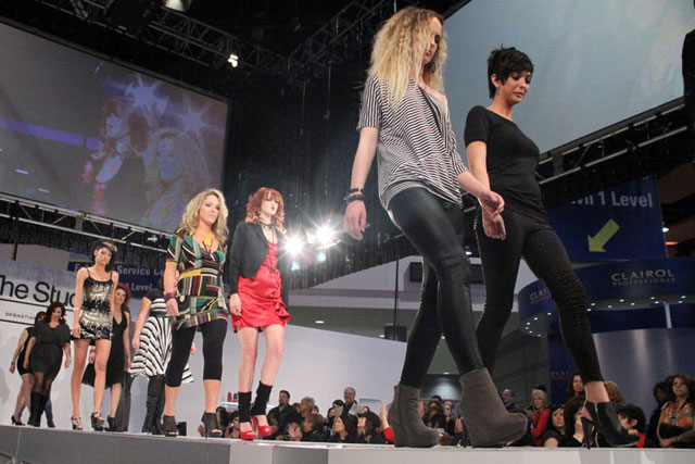 Finalists make their runway debuts