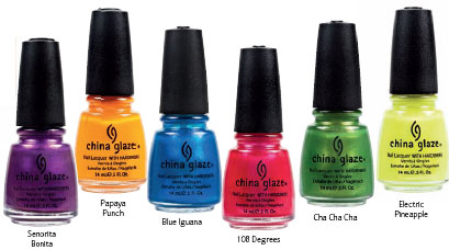 Island Escape - China Glaze's new summer collection