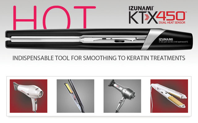 New KTX450 <b>IZUNAMI</b> flat iron