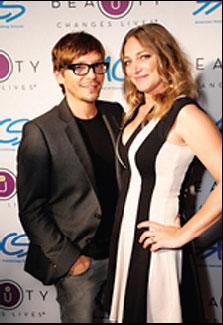 Celebrity stylists Ken Paves and Diana Schmidtke