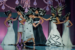 Nicholas French created this artistic presentation, which was part of a past NAHA program