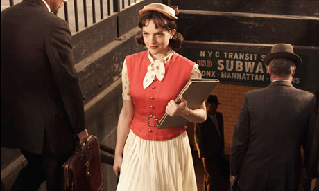 Mad Men character Peggy Olson, played by Elisabeth Moss