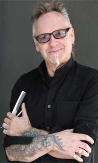 Michael Haase, owner of Salon Platinum Black