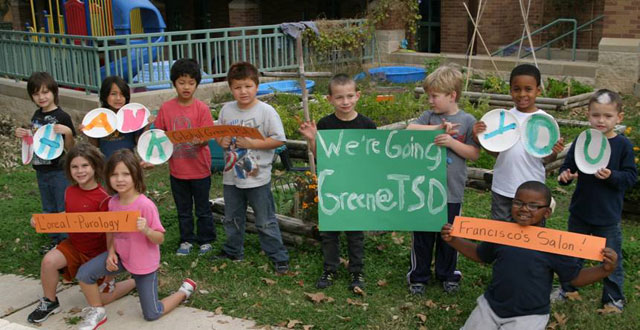 Students proudly support TSD's green initiatives