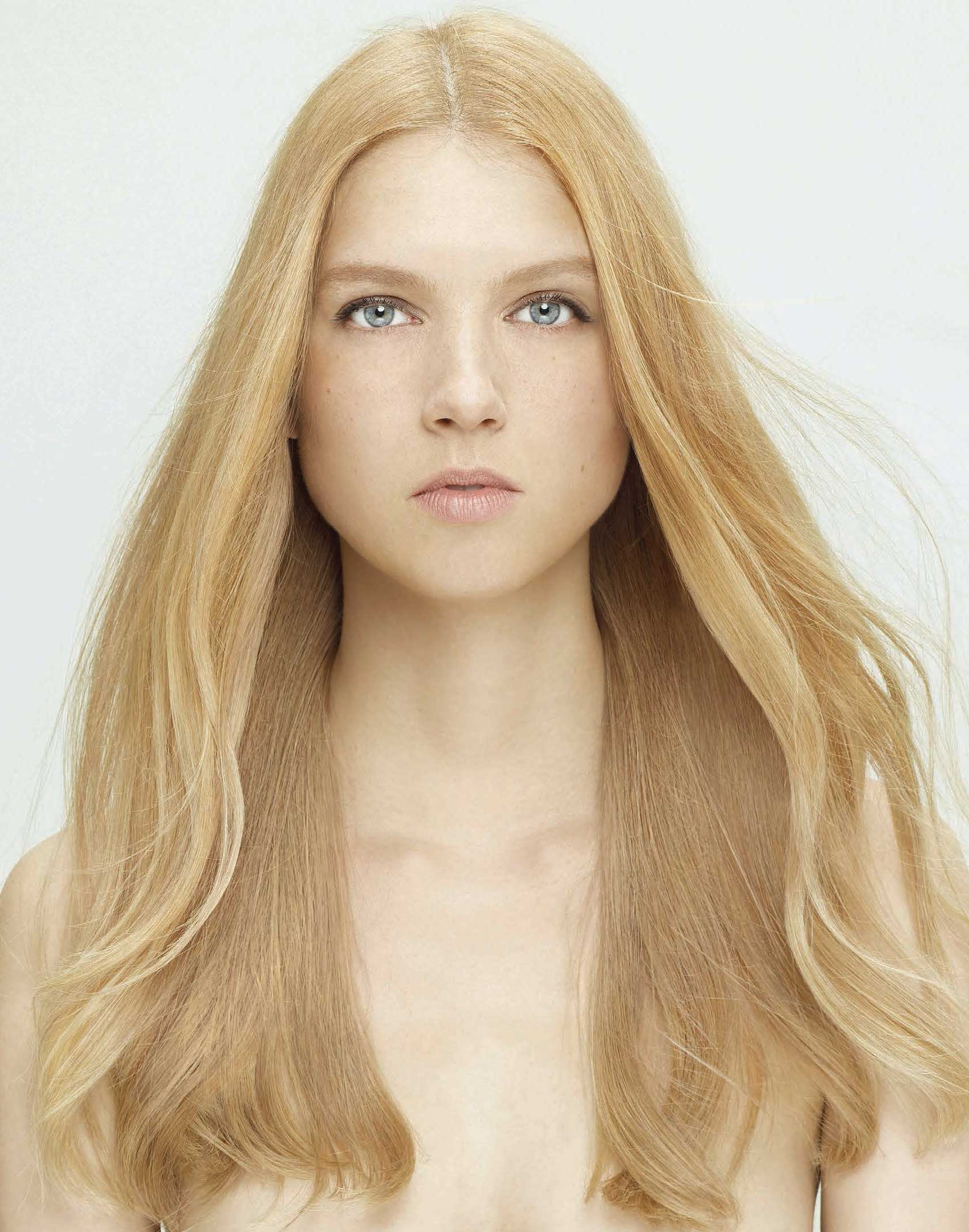 Hairstyle: Rose Gold - after