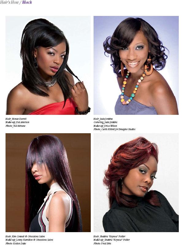 HAIR\'S HOW, Vol.14: BLACK - Hair and Beauty Educational Books