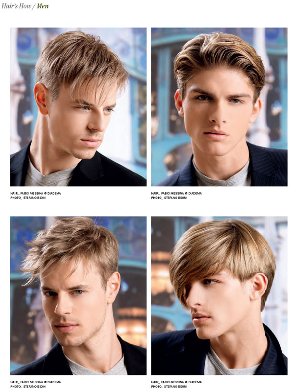 Beautiful Mens Hairstyle Book Photos Styles Ideas
