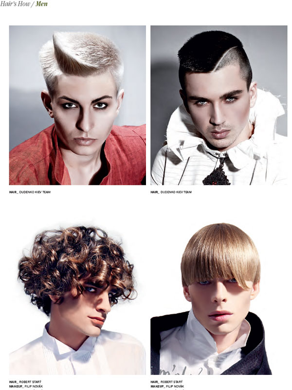 MEN Hairstyles the book HAIRu0027S HOW Vol16