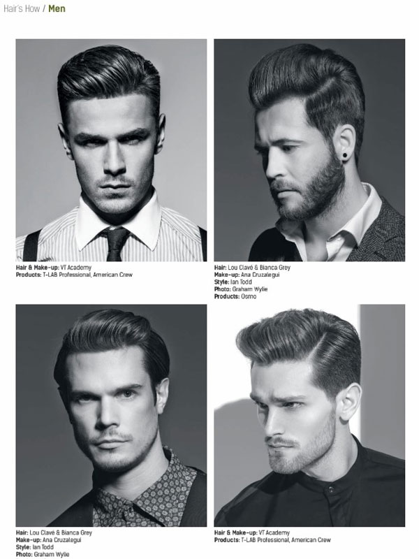HAIR\'S HOW, Vol.21: MEN HAIRSTYLES - Hair and Beauty ...
