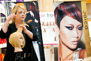 Stylists are eager to learn at the first annual Joico Symposium