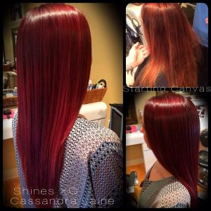 Client Makeover by Cassandra Laine McGlaughlin (color) and Jason Reyes (cut)