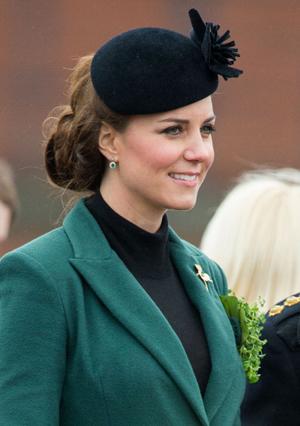 Kate Middleton Goes Chignon ChicPhotographer: Samir Hussein/Contributor; WireImage