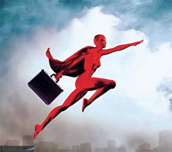 A PUBLIC RELATIONS SUPER-HERO
