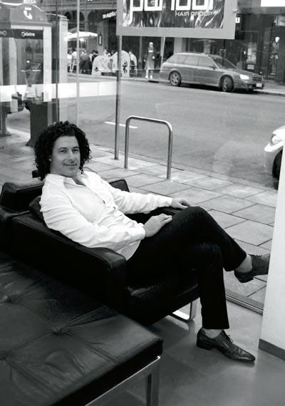 Robert Bava: Crowned australian hairdressing king (TWICE!)