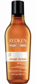 Redken For Men clean brew extra cleansing shampoo
