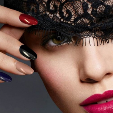 Fall Nails: Party Glam