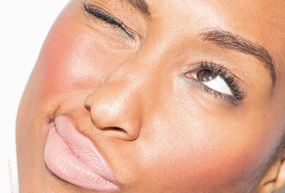 Contoured Faces are Replaced With a Soft Flushed Blush