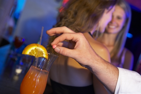 It`s not always a stranger. Date rape drugs can be slipped in by a bartender, server even a `friend.`