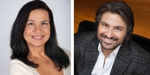 Dina Elliot and Andreas Zafiriadis