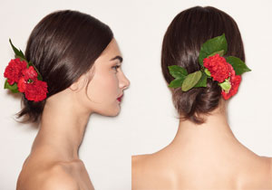 Dolce & Gabbana. CREDITS: Lucas Flores Piran for Redken.