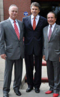 Farouk Shami and John McCall Appointed by Texas Governor Rick Perry