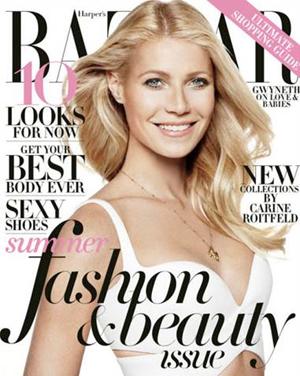 Cover girl Gwyneth Paltrow