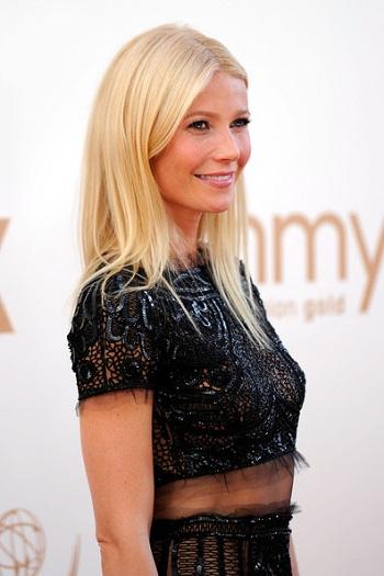 Gwyneth Paltrow`s Emmy Hair by Celebrity Hairstylist David Babaii