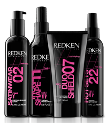 Redken`s Heat Styling - Heat Protectant Products