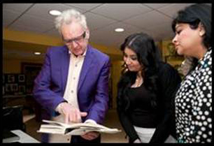 Industry icon Nicholas French shares some history with Maryam Khan and her mom.