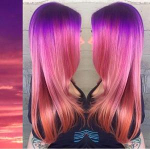 Purple_to_pink_and_coral_color_melt_inspired_by_a_tropical_sunset_by_Breanna_Little_@breanna_anythingbutbasic_