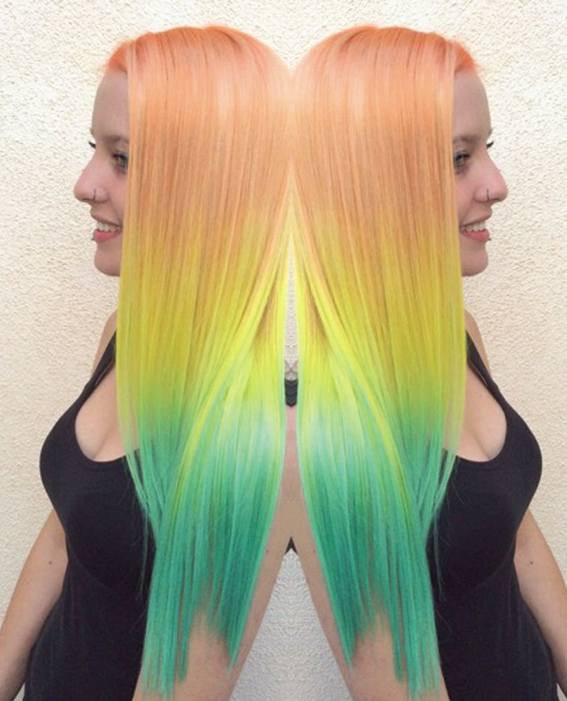 This color work by Toni Rose Larson had a total social media reach of 500,000 users
