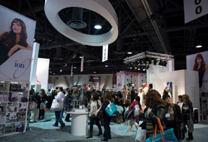 Industry insiders were on the move on the ISSE Long Beach 2013 show floor