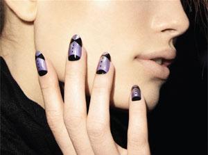 Ruffian`s tuxedo nails