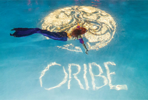 During the Welcome Party at Hyde South Beach, Oribe `released` mermaids into the pool.