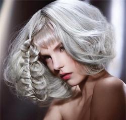 Silver platinumPhotographer: Jack Eames; Hair: Schwarzkopf Young Artistic Team London