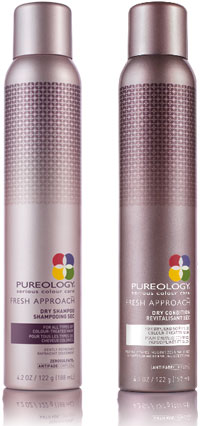 Fresh Approach dry shampoo and Fresh Approach conditioner