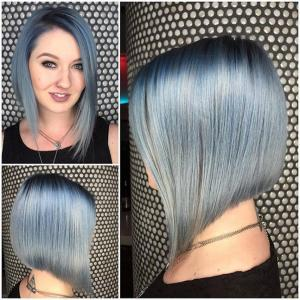 Straight_Smooth_Lobs__Beautiful_blue_colormelt_decorates_this_expert_precision_lob_with_a_hint_of_wispiness_along_the_perimeter_lines_to_create_a_totally_modern_style._Stylist:_Alexis_Thurston_IG_@alexisbutterflyloft__Tip:_Smooth_straight_lobs_can_create_the_impression_of_a_more_statuesque_appearance._