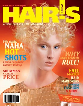 HOT by Hair's How Magazine, September/October 2009 issue - look inside