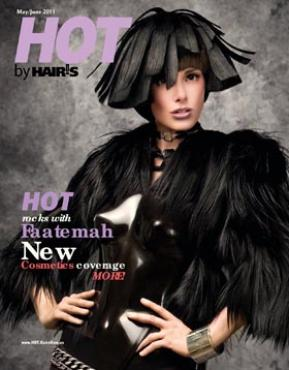 HOT by Hair's How Magazine, May/June 2011 issue - look inside